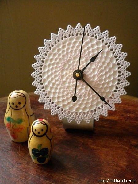 Часы + вязание 😊