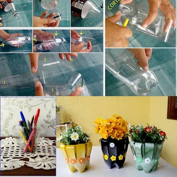 Как необычно использовать пластиковые бутылки