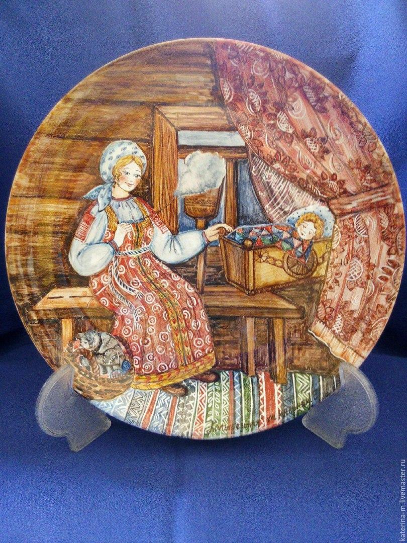 Расписная посуда