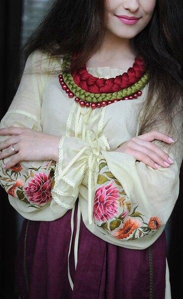 Вышивка Ирины Олоничевой