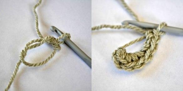 Зайчик, вязанный крючком