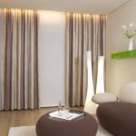 Затемненные шторы Антураж, чтобы сэкономить энергию и контролировать свет и шум