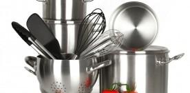 Аксессуары для кухни-набор посуды из нержавеющей стали