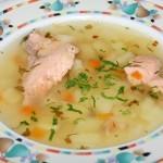Суп с ухой