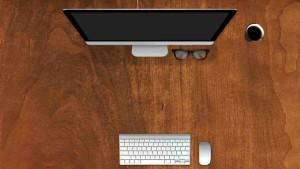 письменный стол коричневый