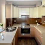 Дизайн интерьера узкой и длинной кухни