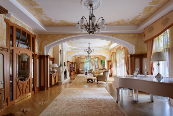 Дизайн гостиной в скандинавском стиле
