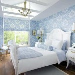 Модная спальня в белом цвете