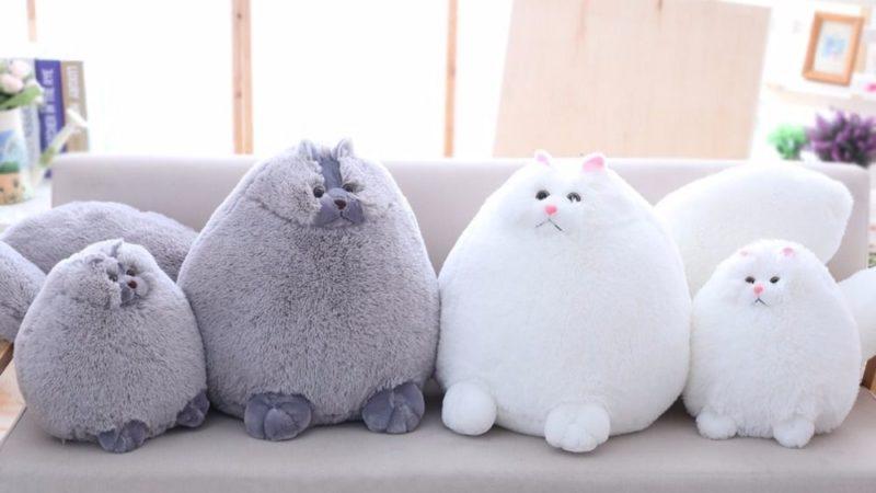кошки любители кошек подушка-кошка