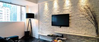 Декоративный кирпич для внутренней отделки стен