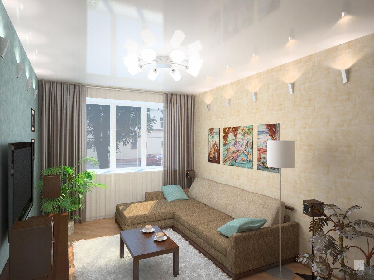 Как выбрать цветовую гамму для дизайна маленькой комнаты